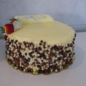 White Fantasy Cake