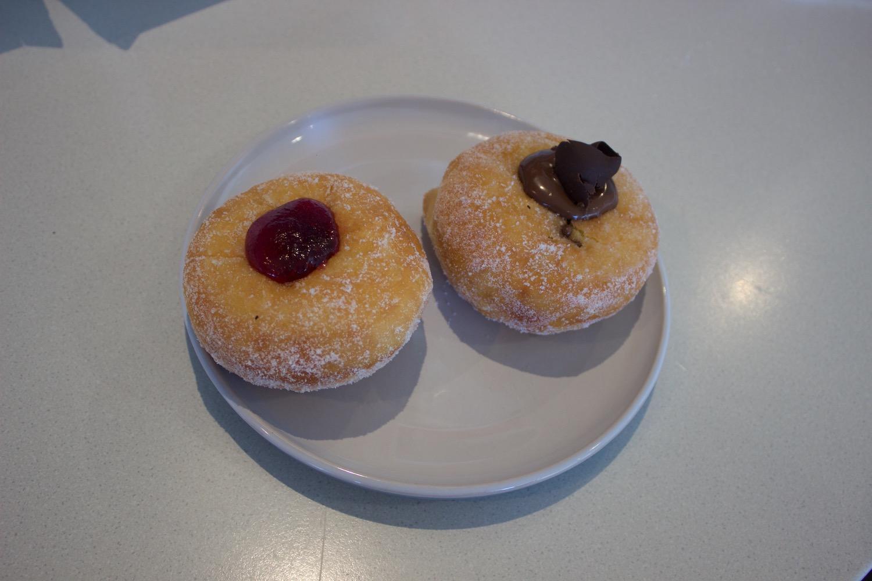 Jam & Nutella Donuts