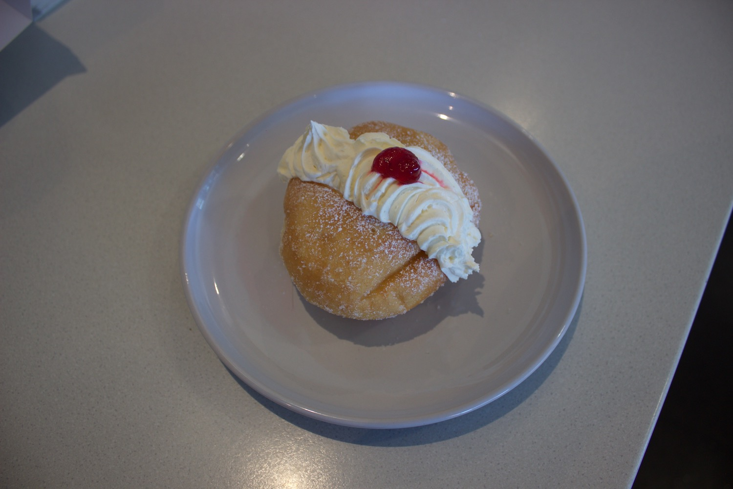 Jam & Fresh Cream Donut