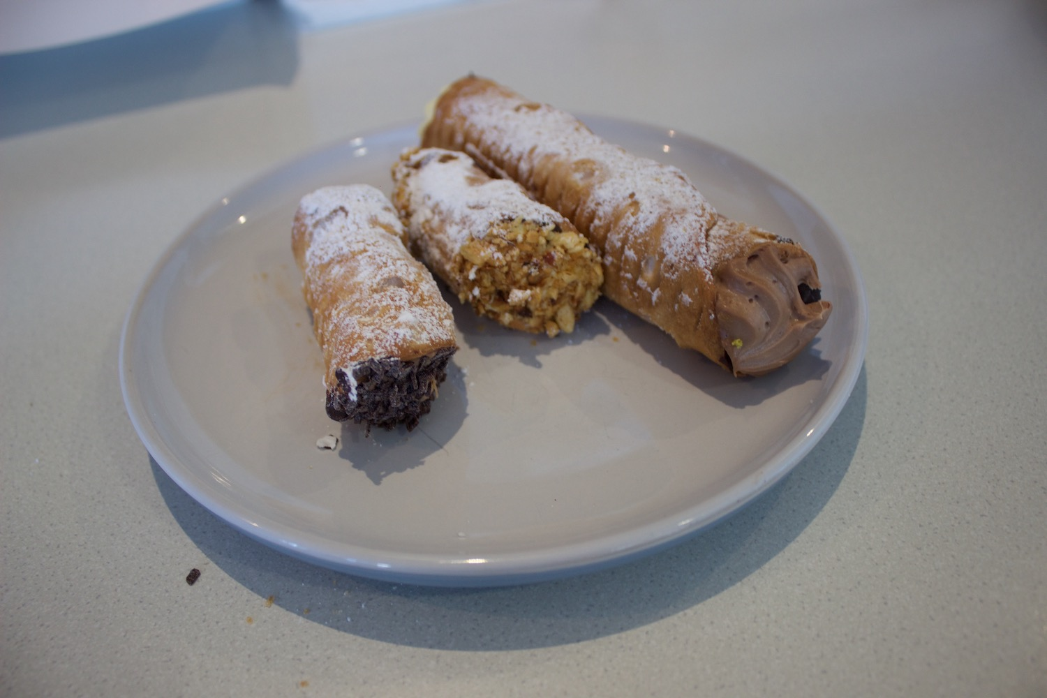 Small & Large Cannoli