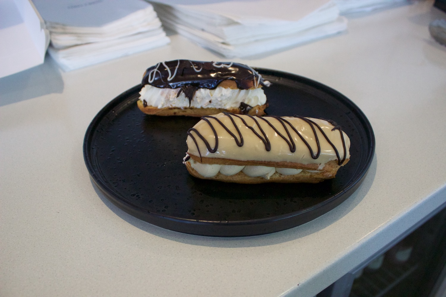 Chocolate & Coffee Eclair